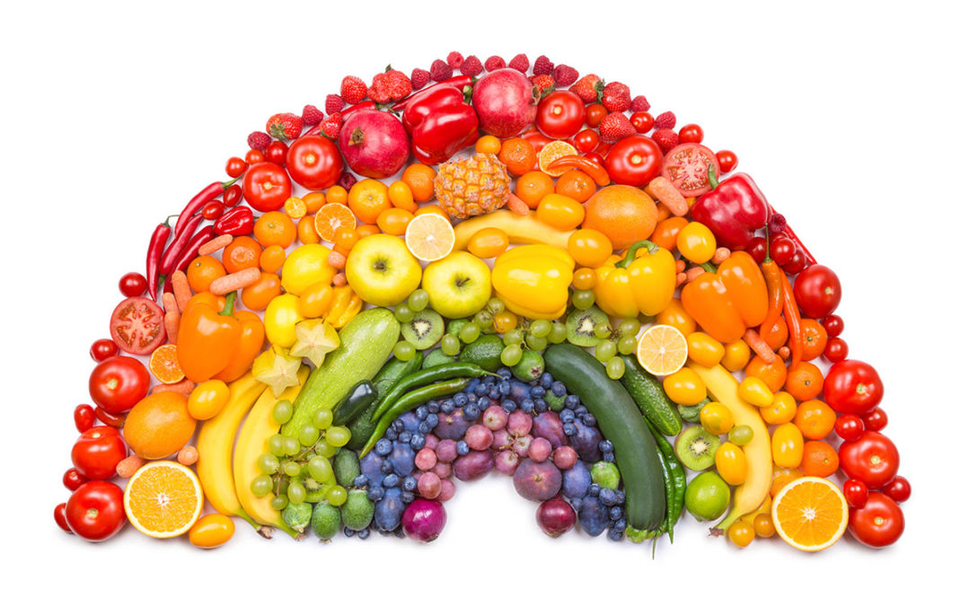 Boosting health by 'Eating a Rainbow'