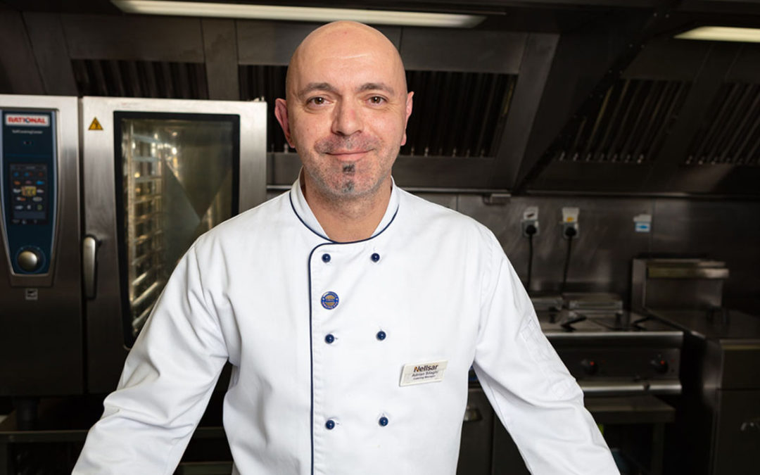 An interview with Princess Christian Head Chef, Adrian Silaghi