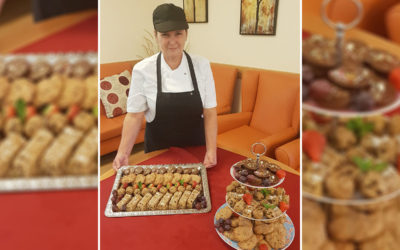 Fortified high protein snacks at Hengist Field Care Home